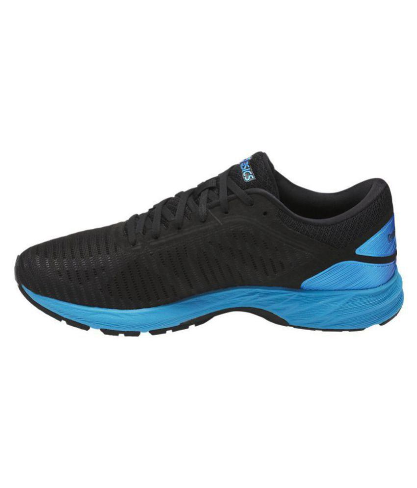 170fe3a5ab08 Asics DYNAFLYTE 2 Black Running Shoes Asics DYNAFLYTE 2 Black Running Shoes  ...