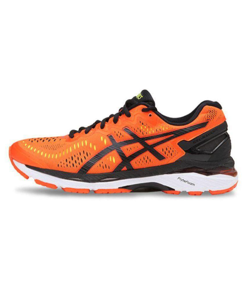 Asics GEL KAYANO 23 Orange Running Shoes