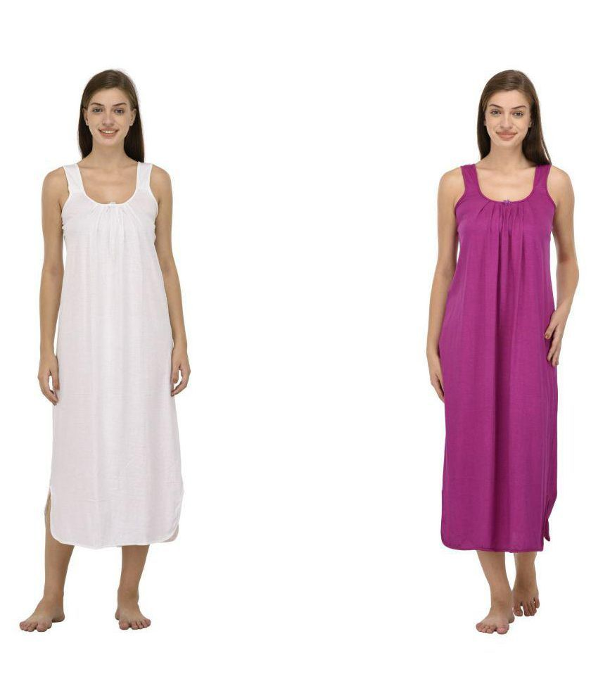 Ishita Fashions Hosiery Nighty & Night Gowns - Multi Color