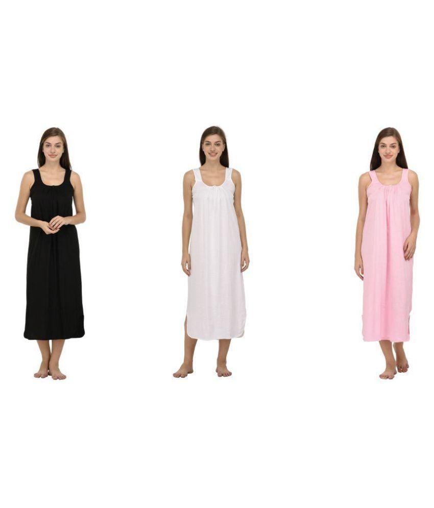 Ishita Fashions Hosiery Nighty & Night Gowns - Multi Color