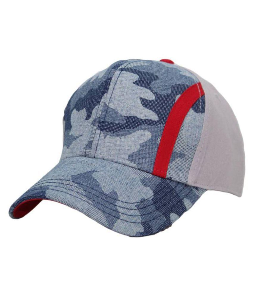 Parrk Orange Graphic Cotton Caps