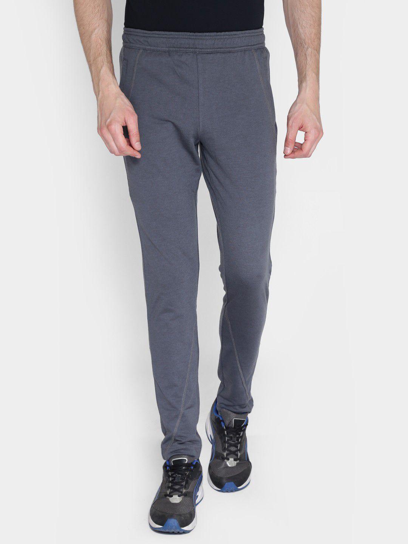 Alcis Mens Solid Grey Trackpant