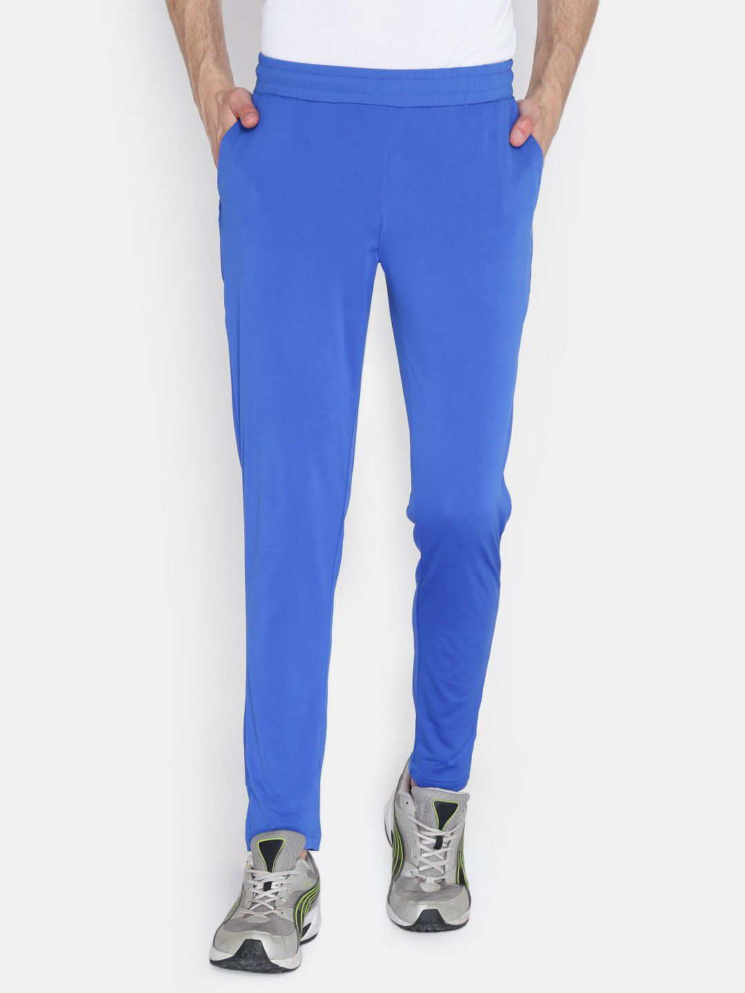 Alcis Mens Solid Royal Blue Trackpant