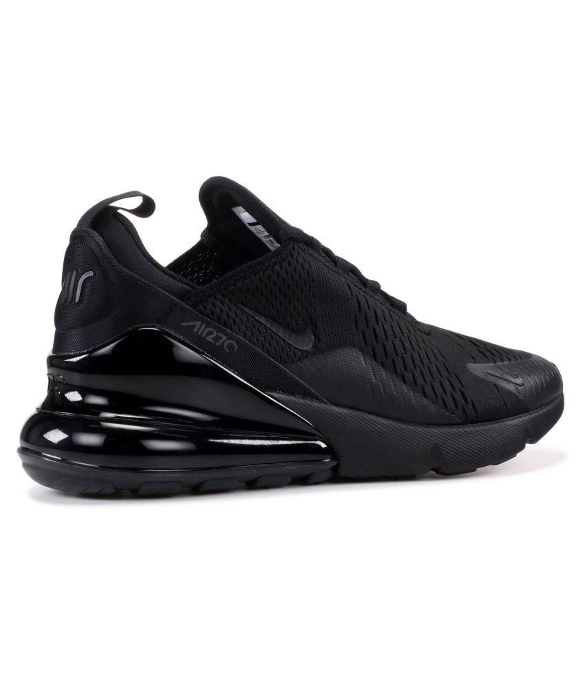 pretty nice f5f76 e3bb1 ... Nike AIR 27 C Black Running Shoes ...