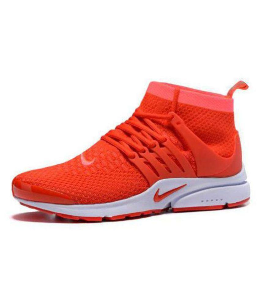 online store 8e236 aff8a Nike Air Presto Orange Running Shoes