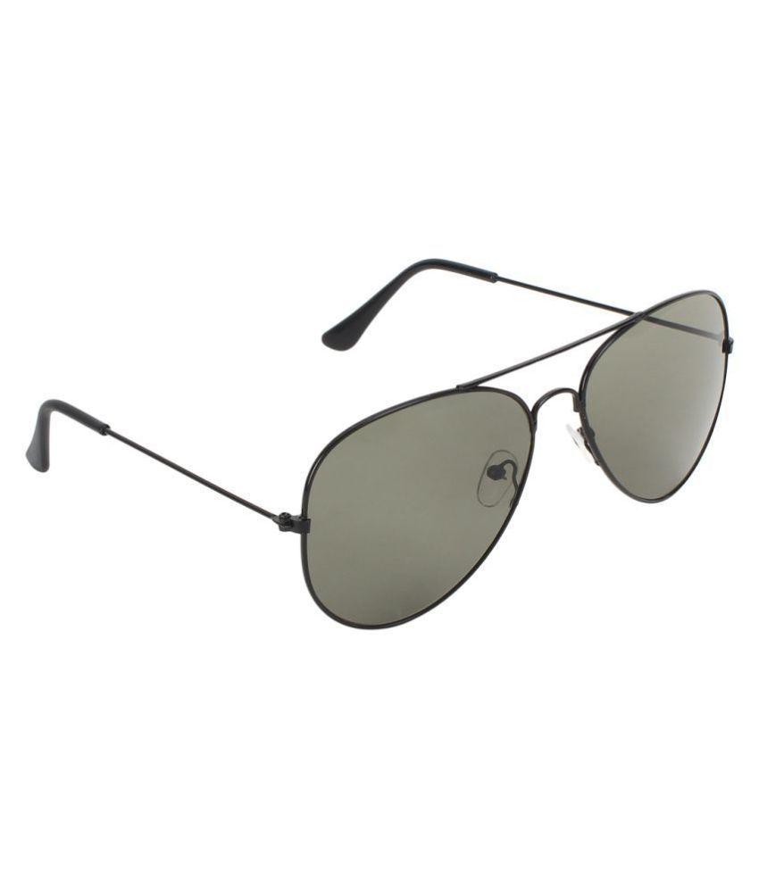 Zyaden - Green Pilot Sunglasses ( AV-16 )