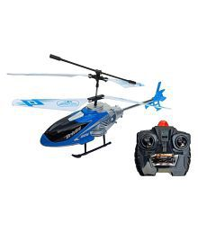 Assemble High Quality Imported Kids Multicolor Remote Control RC Velocity Helicopter for Kids -Gift Toy - Multicolor