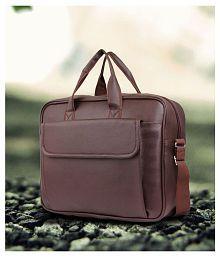 Tuscany Brown P.U. Office Bag