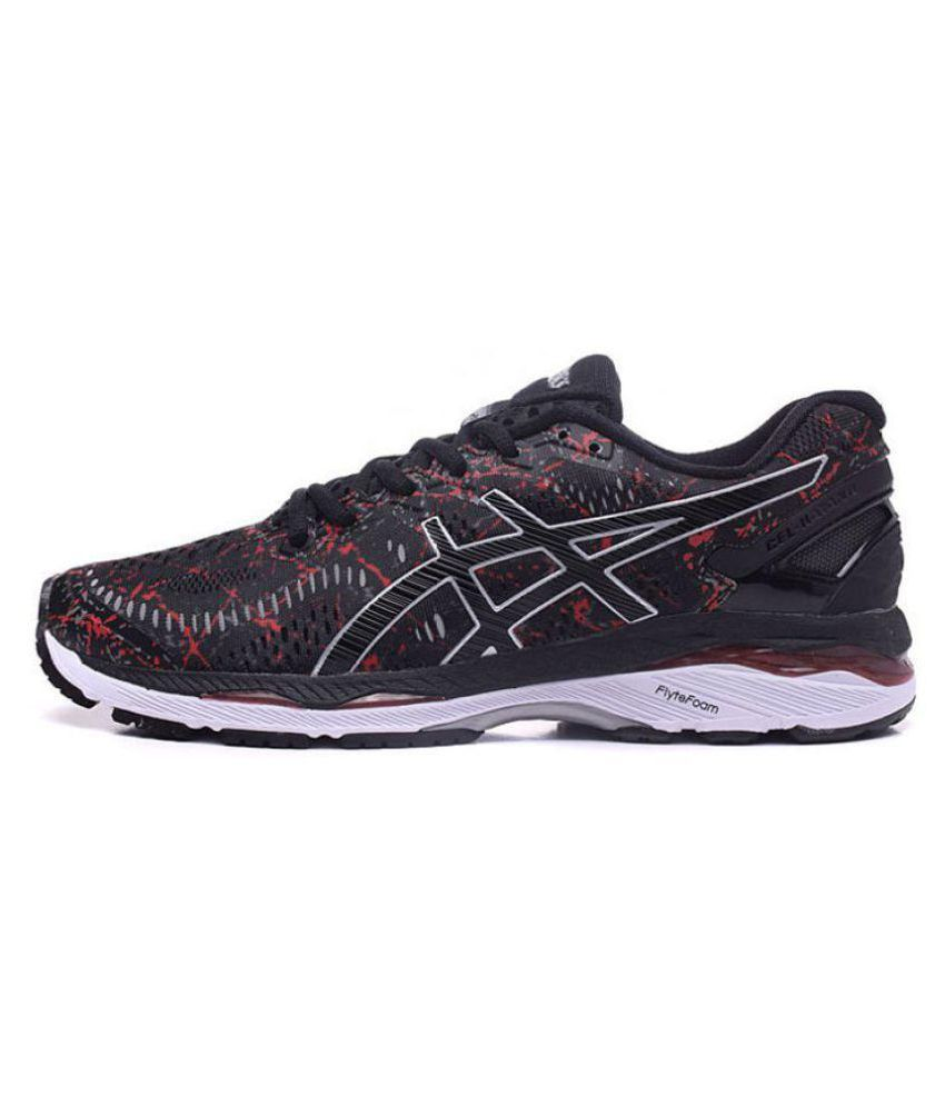 Asics GEL-KAYANO 23 Black Running Shoes - Buy Asics GEL-KAYANO 23 Black  Running Shoes Online at Best Prices in India on Snapdeal 7207de5cb4b9d