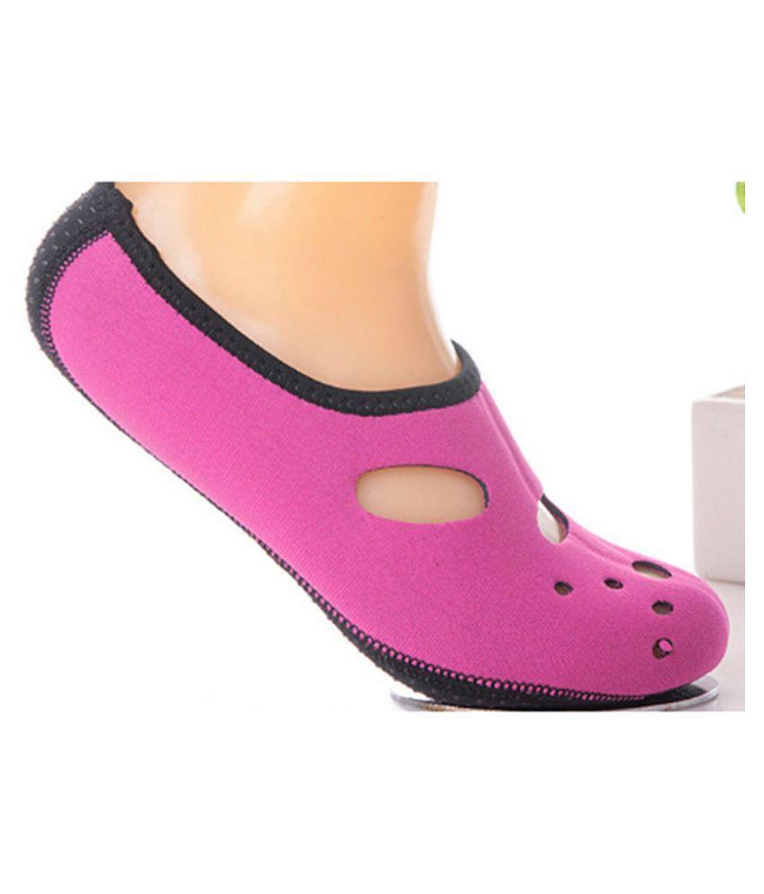 63cd00c4517 Barefoot Skin Shoes Aqua Water Summer Men Women Sport Socks Trainers  Footwear Beach Socks (5 Color)  Buy Online at Low Price in India - Snapdeal