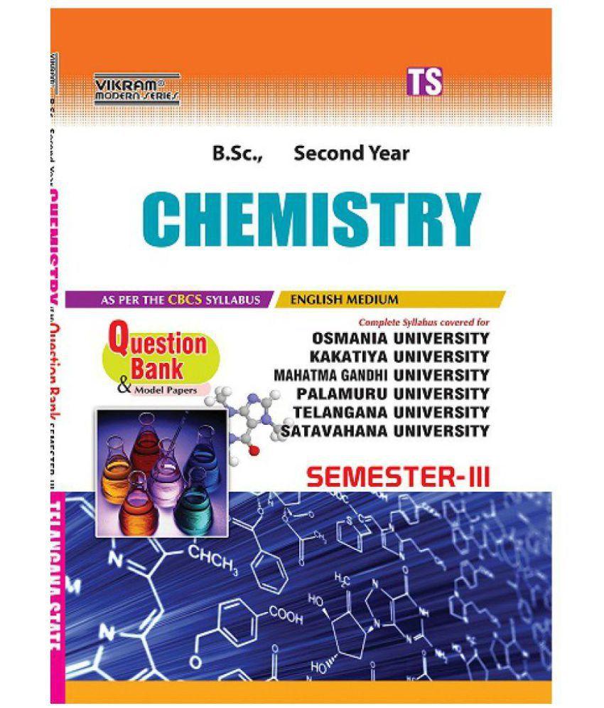 TS-Sem-III-II-Bsc-Chemistry-(EM)-QB-2018: Buy TS-Sem-III-II