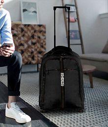 American Tourister Black Laptop Overnighter