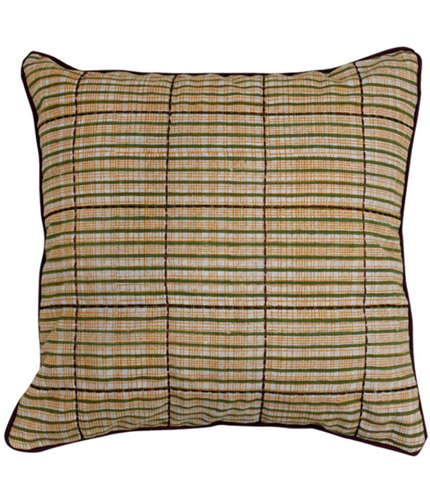 Sadyaska Single Cotton Cushion Covers 40X40 cm (16X16)