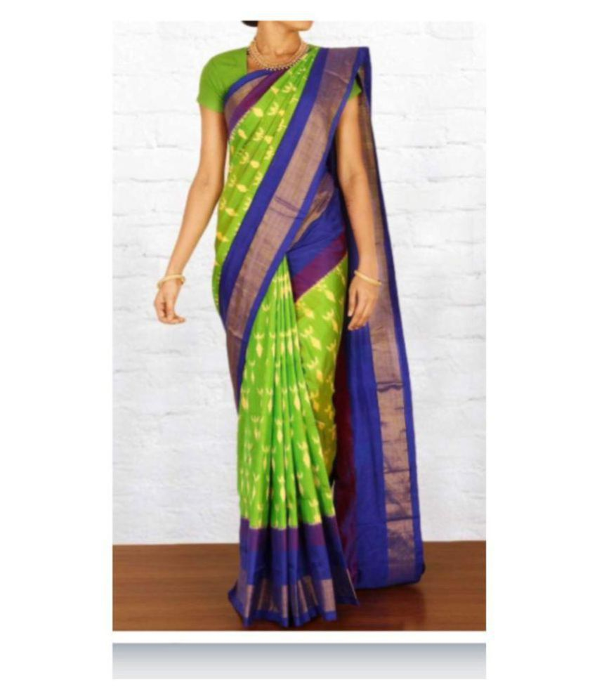 Best deal Green Banarasi Silk Saree