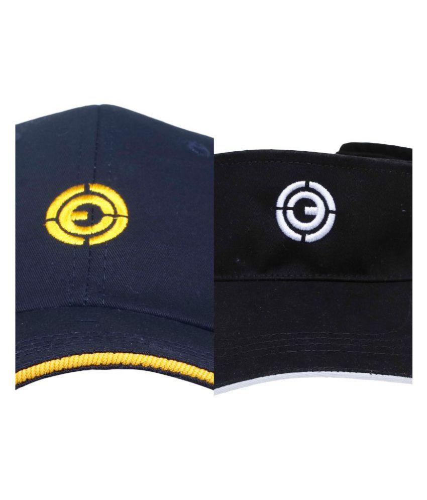 Ojass Multi Embroidered Cotton Caps
