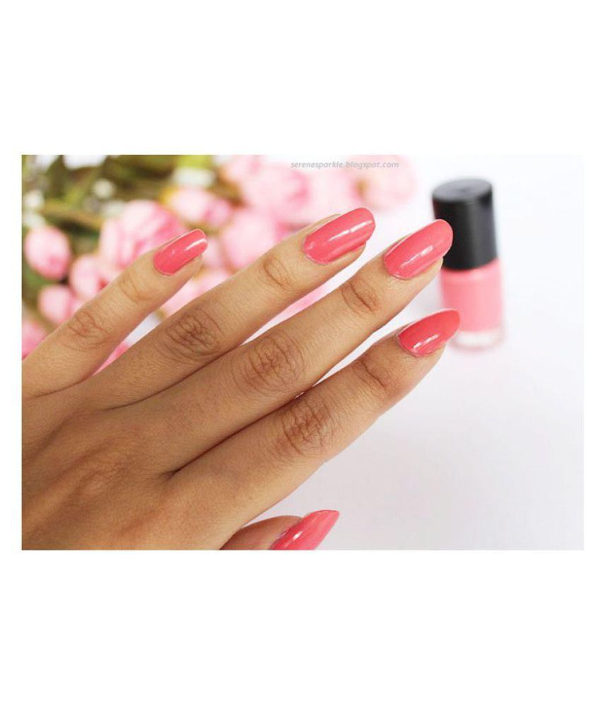 Oriflame Pure Colour Nail Polish 30796 Pink Crush Natural 6 ml: Buy ...