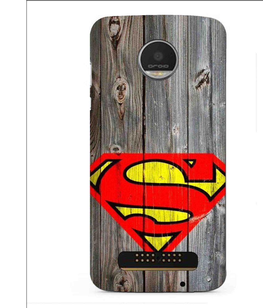 Moto Z 3D Back Covers By Snooky