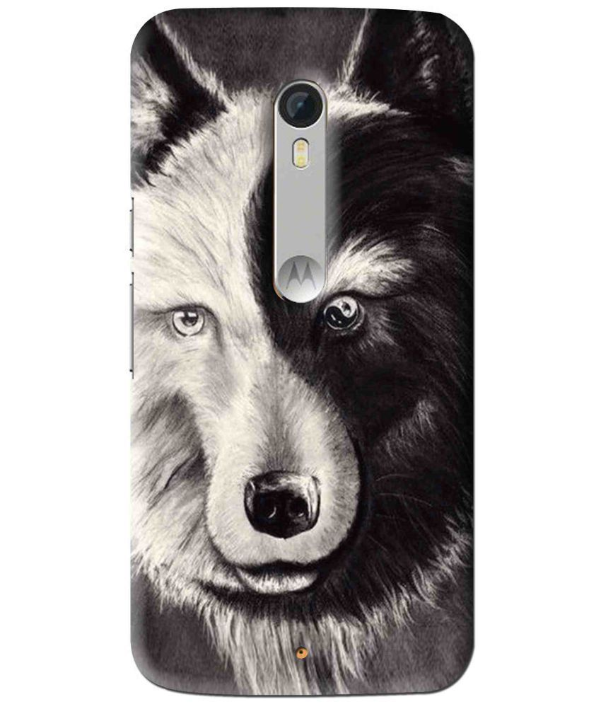 Motorola Moto X Play 3D Back Covers By Snooky