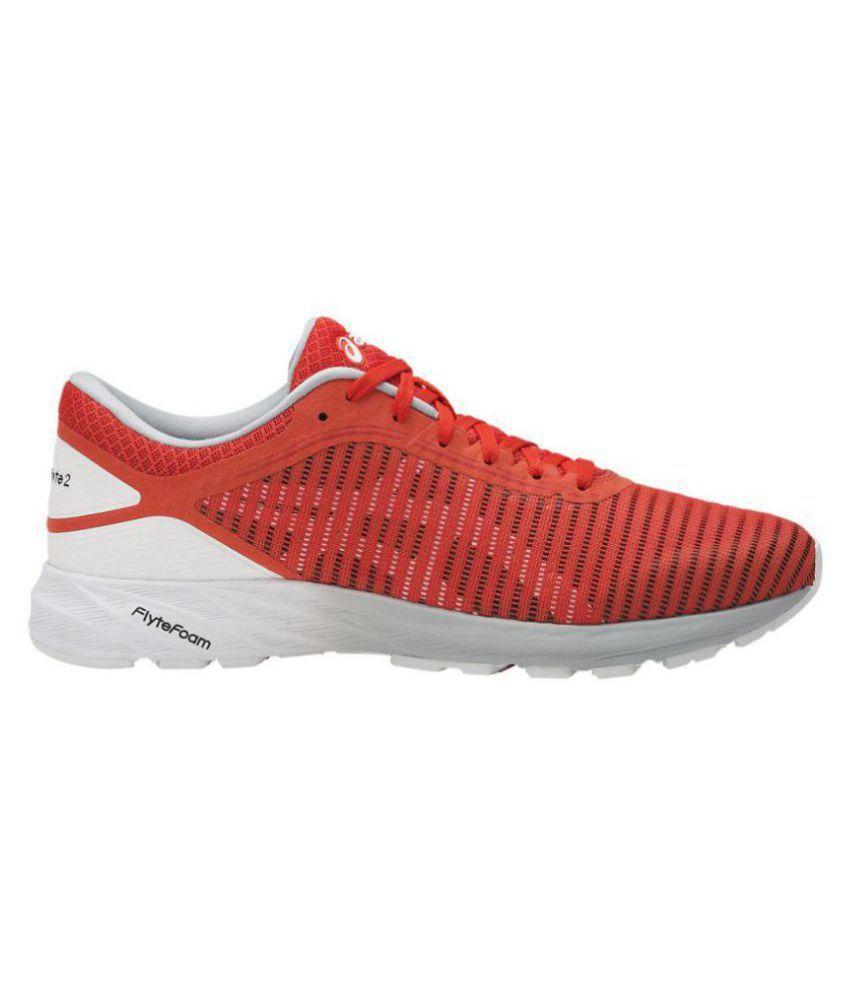 hot sale online 6d4b4 ed583 Asics DYNAFLYTE 2 Orange Running Shoes