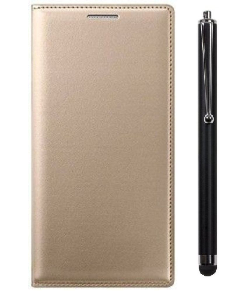 Micromax Canvas Fire 6 Q428 Cover Combo by Shanice Leather Cover Combo