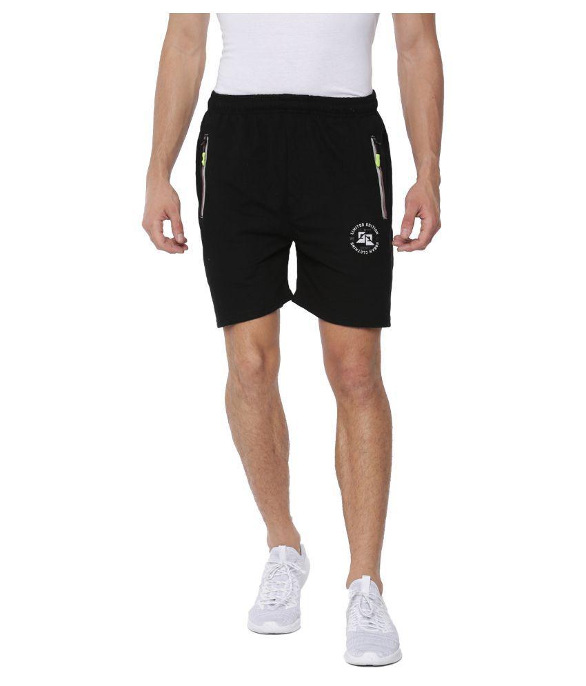 Sports 52 Wear Black Shorts