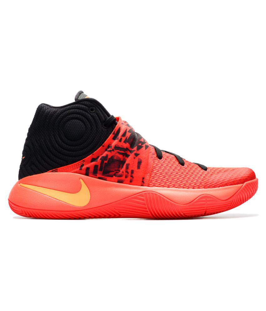uk availability 6b4e5 3143d Nike KYRIE 2 SMME BLACK Red Basketball Shoes