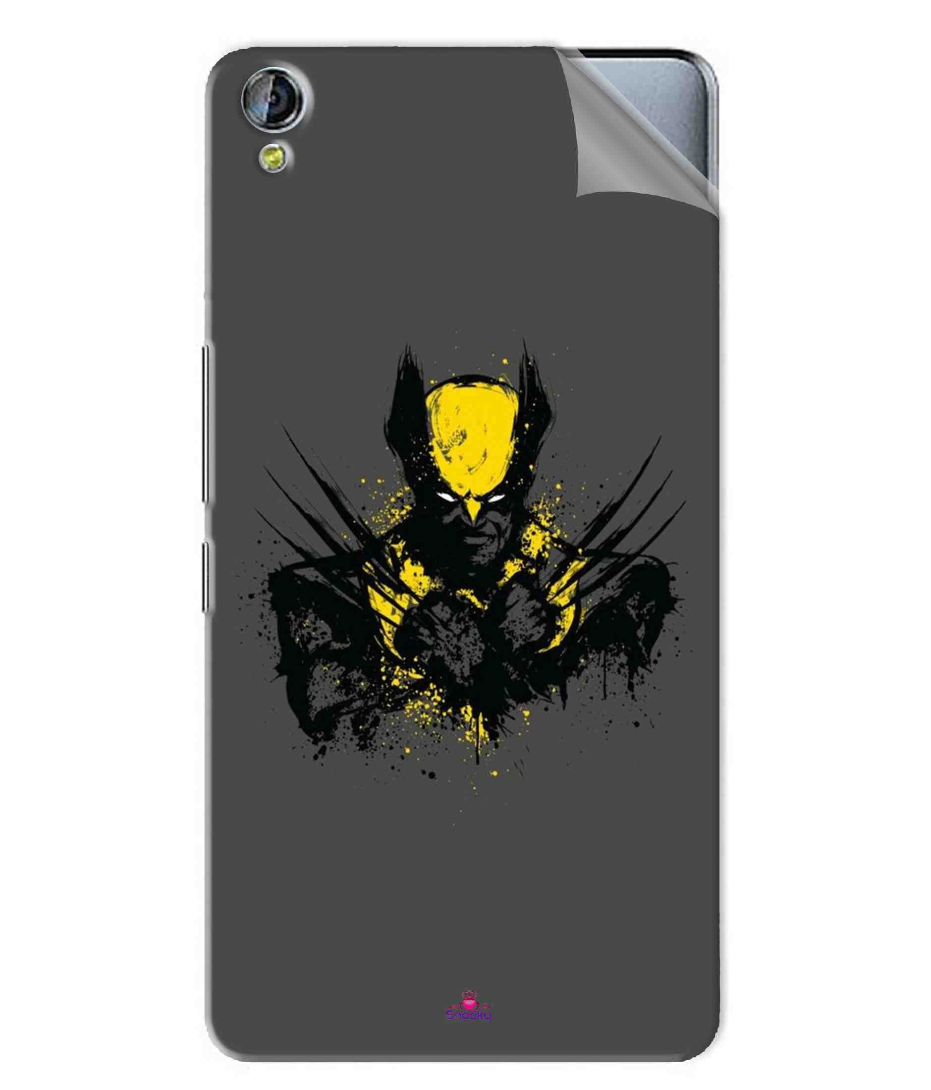 Micromax Canvas Juice 3 Plus Designer Sticker By snooky