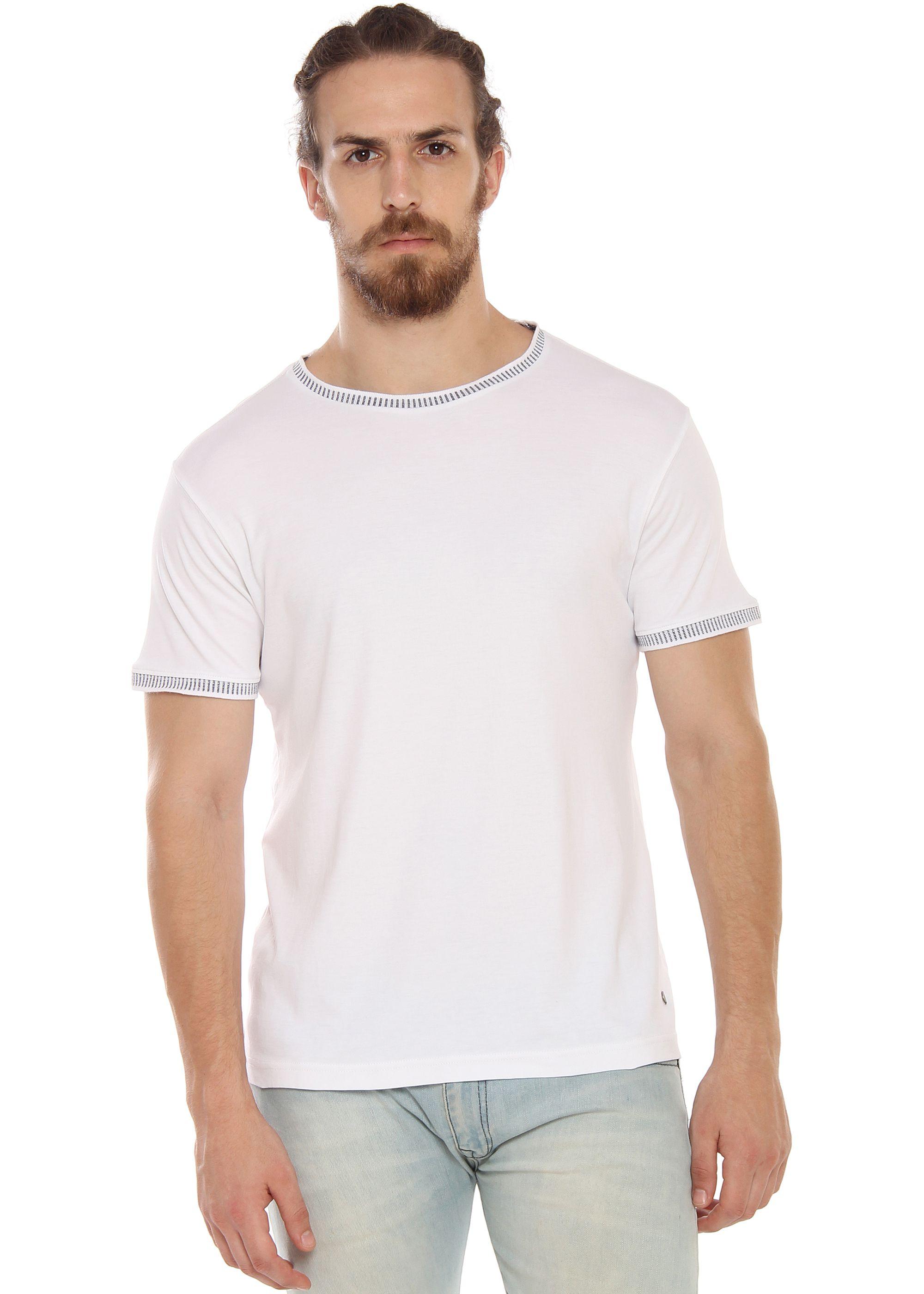 Smokestack White Round T-Shirt Pack of 1