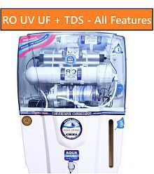 AQUAGRAND DEAL RO+UF+UV+MINERAL+TDS CONTROLLER 12 Ltr ROUVUF Water Purifier- All Features