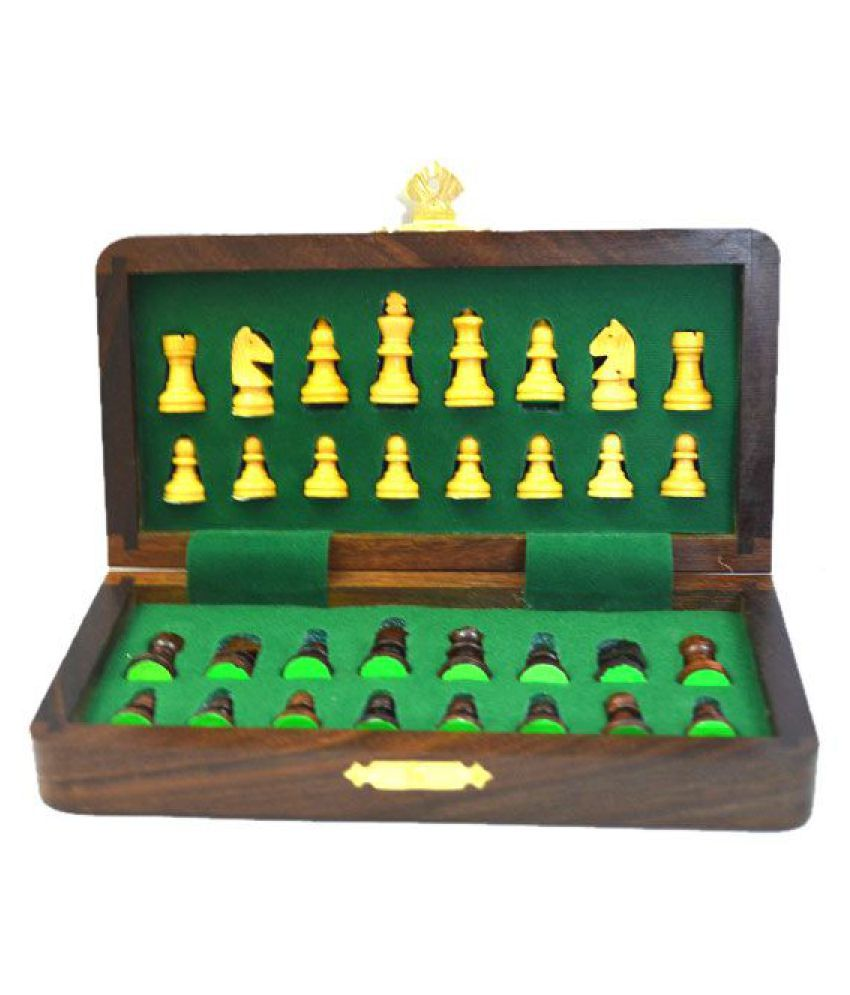 Chess N Craft Wooden Multicolor Chess One Size