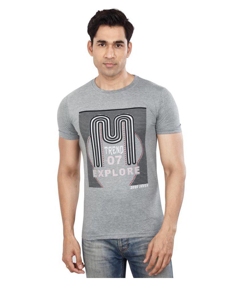 Dudlind Grey Round T-Shirt Pack of 1