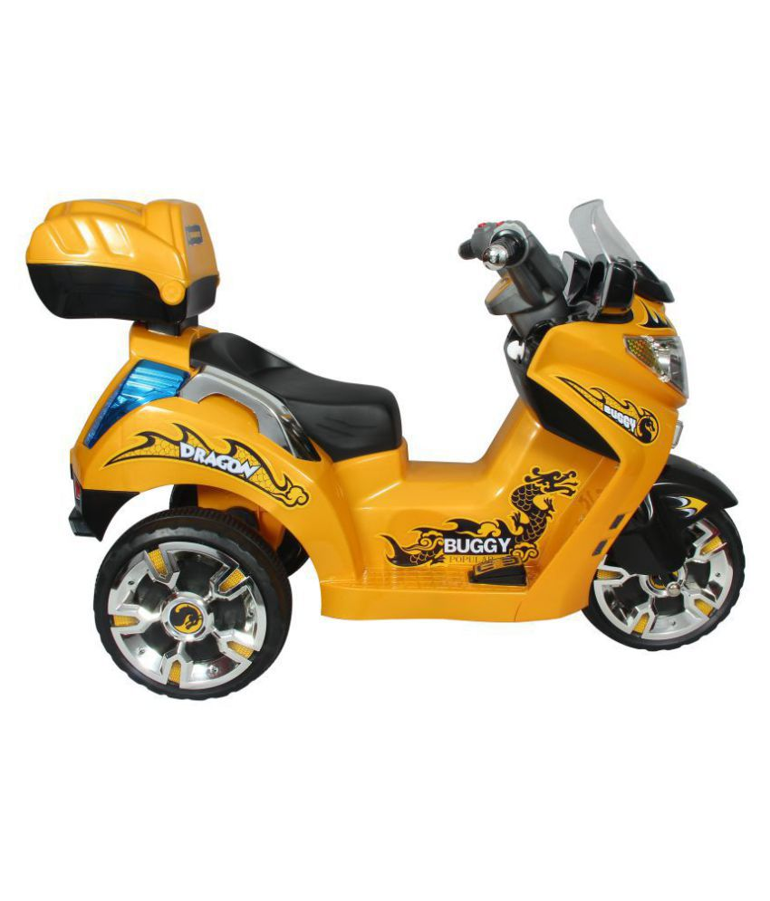 7cd3d675191 HOLLICY DRAGON BUGGY BIKE FOR KIDS - YELLOW - Buy HOLLICY DRAGON ...