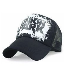 Printed Linkin Park Printed In Black Colour Half Net Cap,Trucker Cap For Boys And Girls Cap