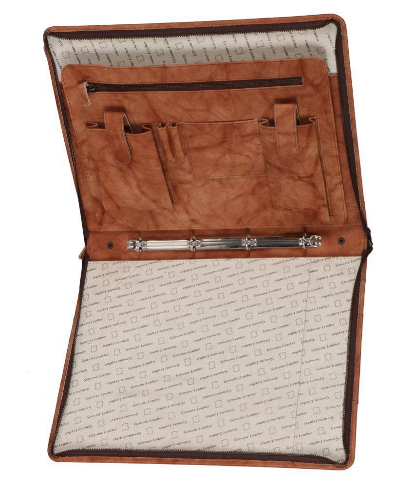Genuine Leather 16.5 Inch File Folder