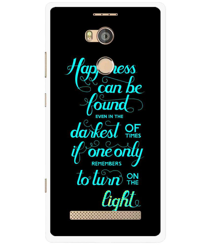 Gionee Elife E8 Printed Cover By Snooky