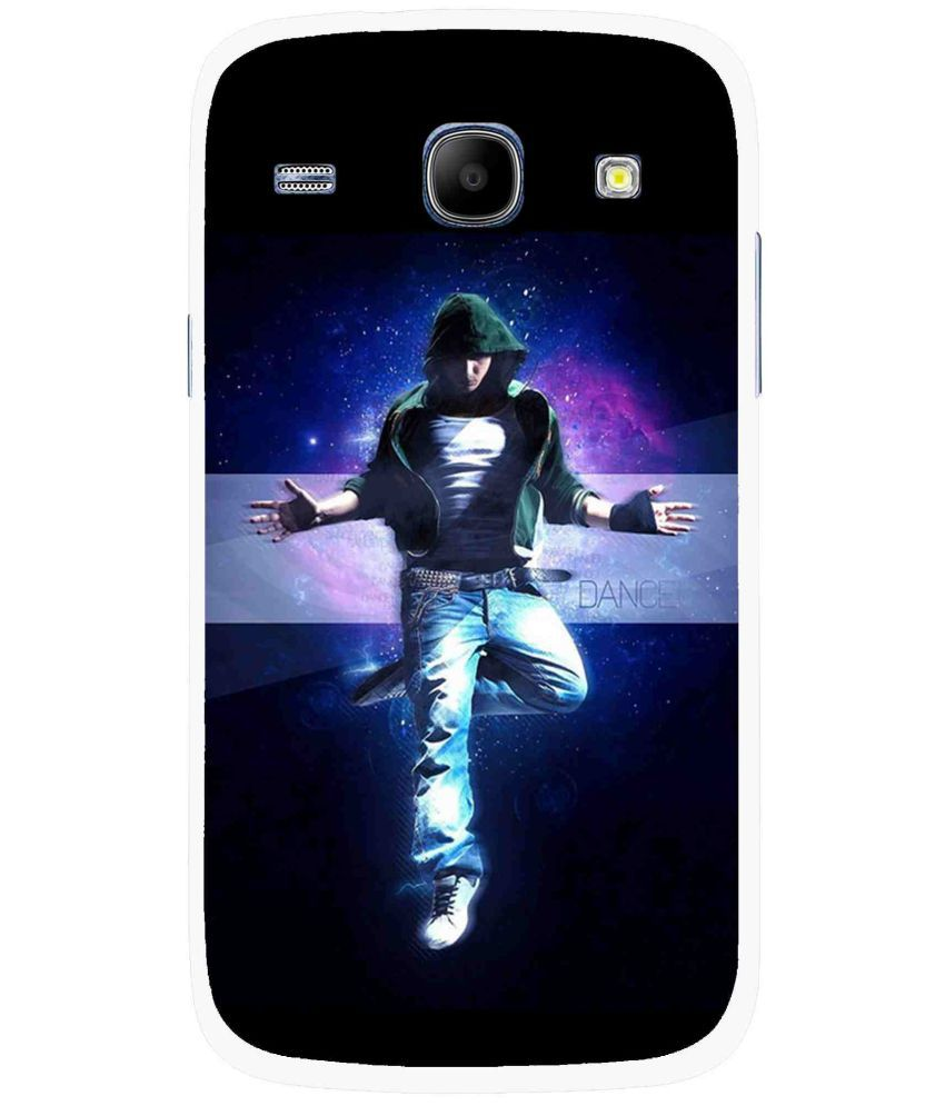 Samsung Galaxy Core Printed Cover By Snooky