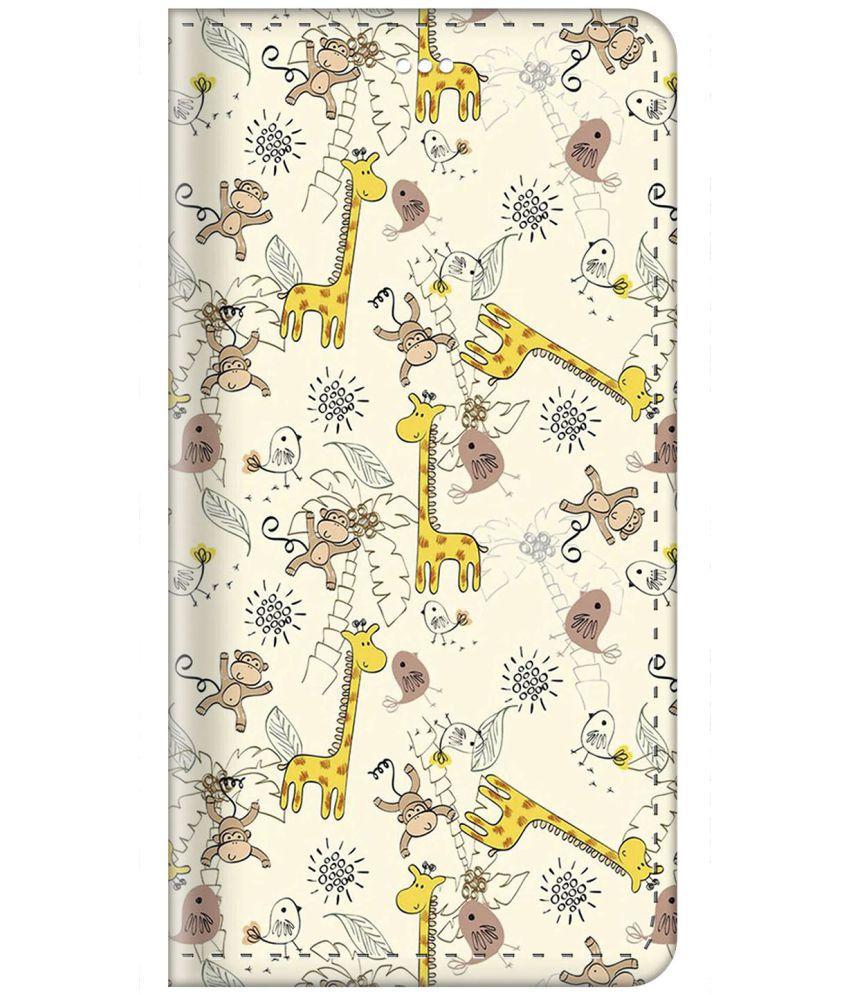 OnePlus 1 Flip Cover by ZAPCASE - Multi