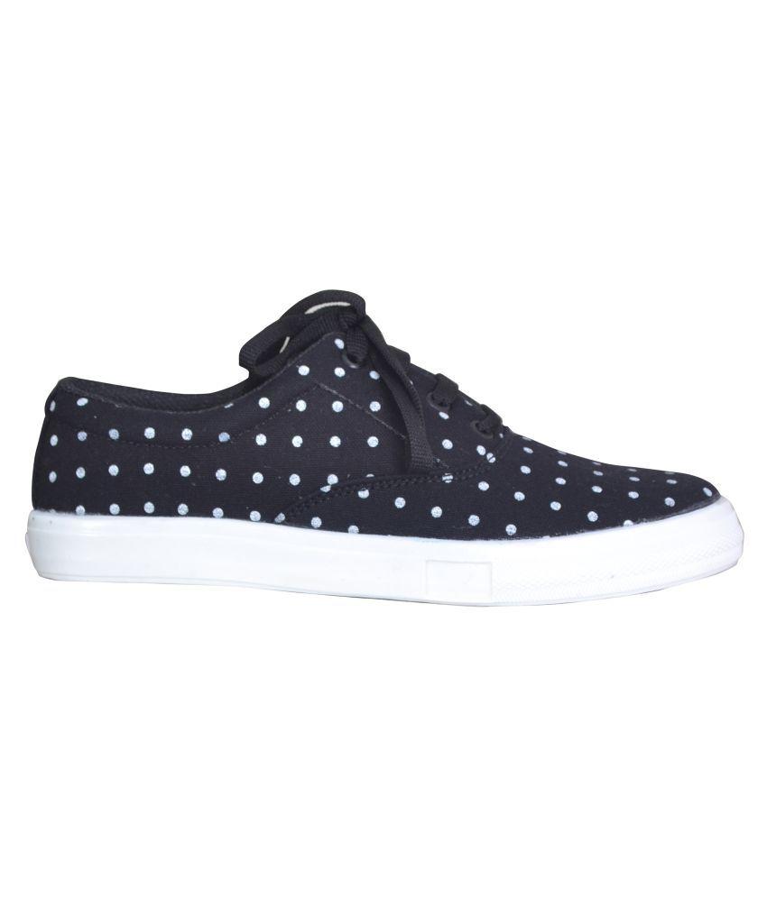 royaltees Black Casual Shoes