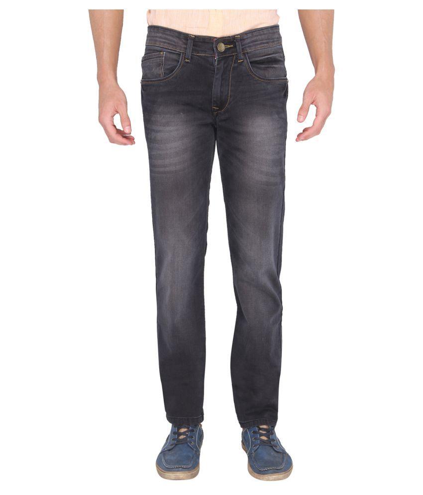 A la Mode Black Slim Jeans