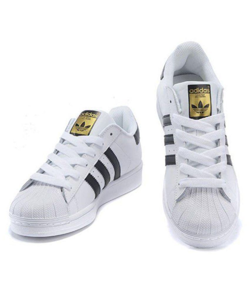 Adidas superstar Sneakers White Casual Shoes ...