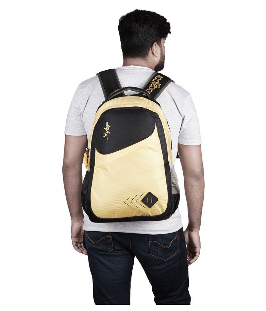 ... Skybags Branded Backpacks Laptop Bags SCHOOL BAG BLACK FOOTLOOSE LEO 4 c7226db93d