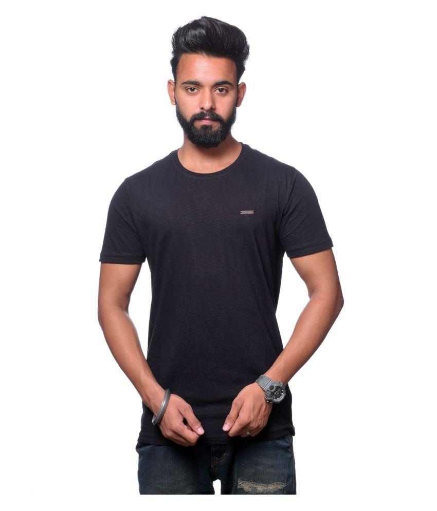 Hunkmart Black Round T-Shirt