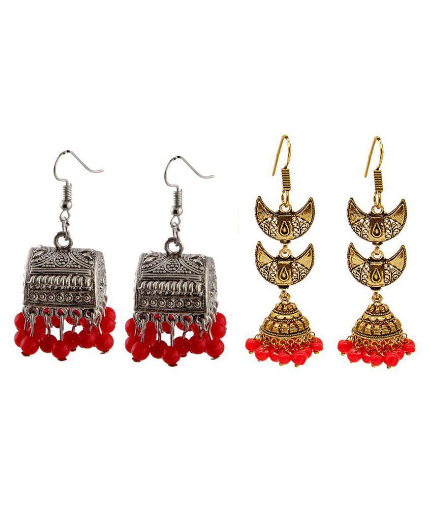 Malifionna Fashionable Earring Combo -MFER006-MER233R