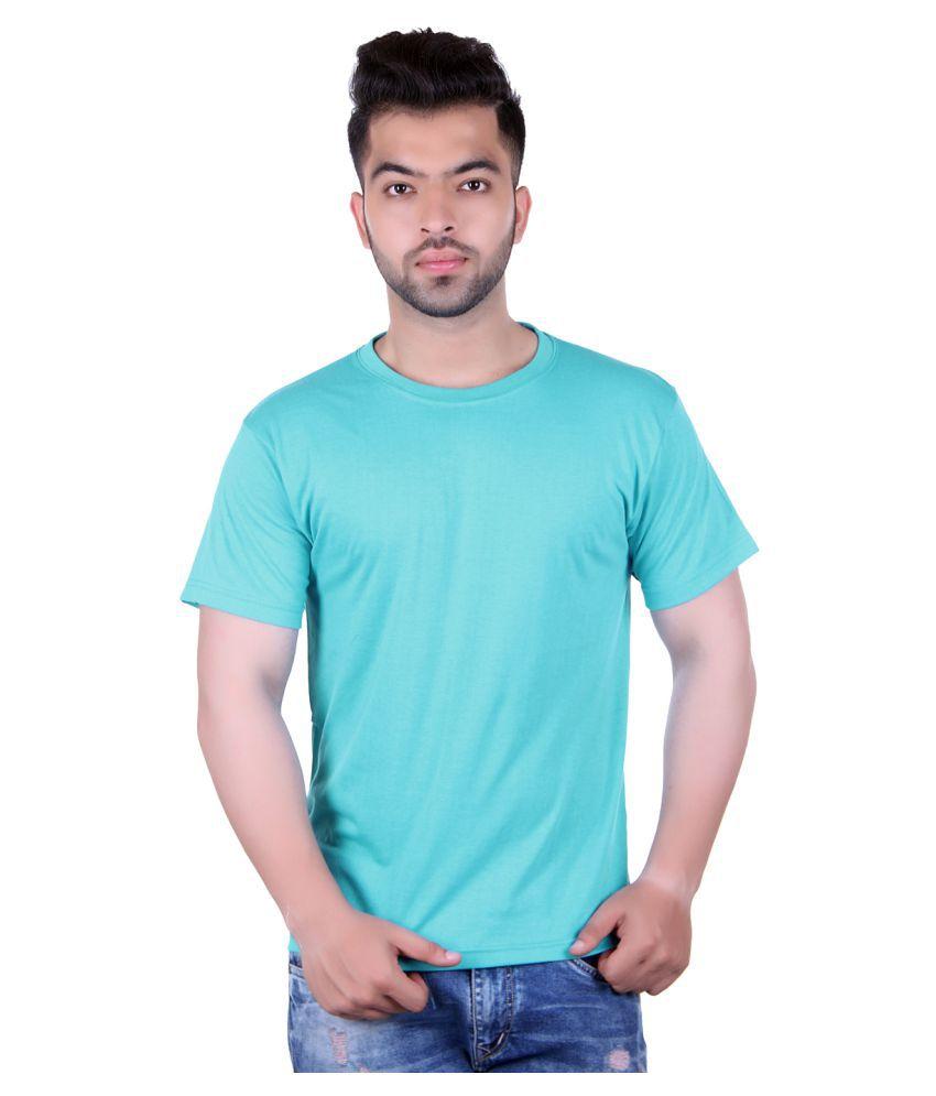 HARBOR N BAY Turquoise Round T-Shirt