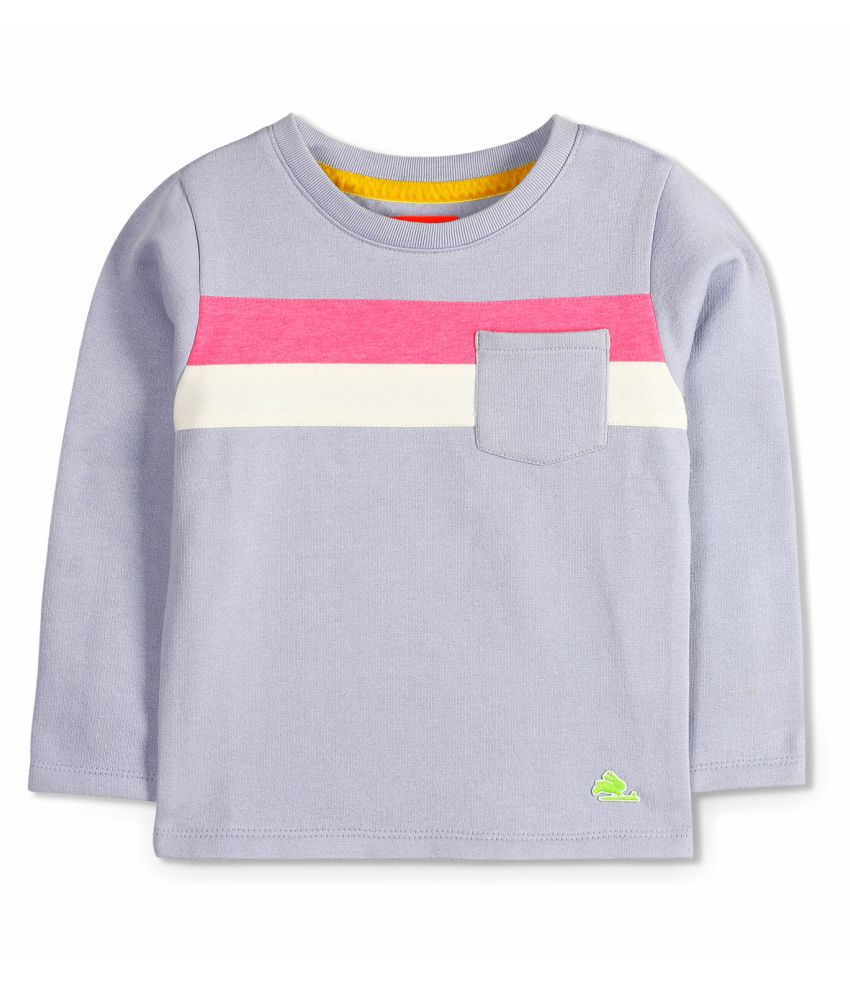 Cherry Crumble Soft Colorblock Sweatshirt