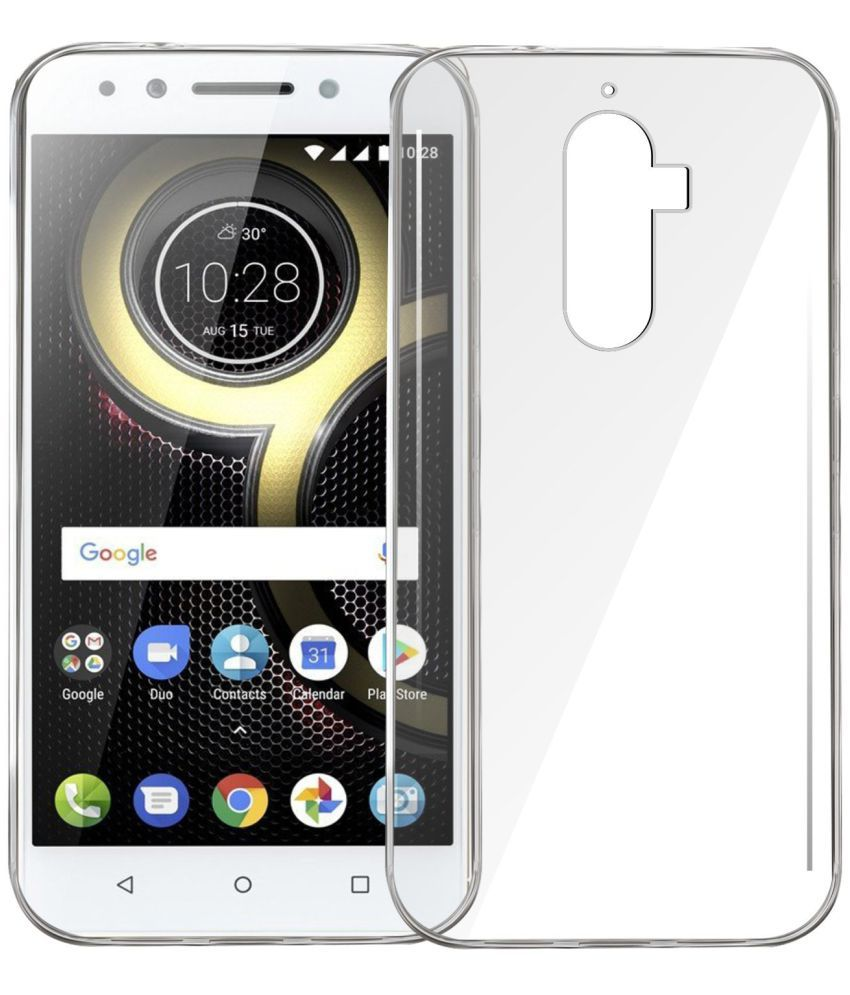 Lenovo K8 Note Soft Silicon Cases Galaxy Plus   Transparent