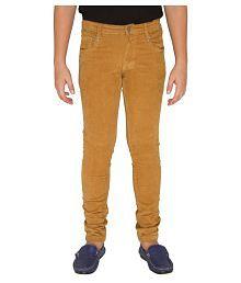 OVO Boys Mustard Yellow Corduroy Pants