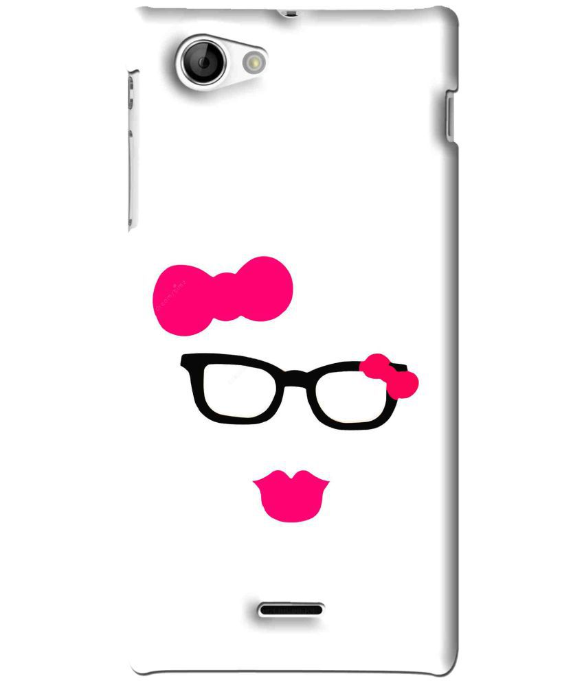 Sony Xperia J Printed Cover By Snooky