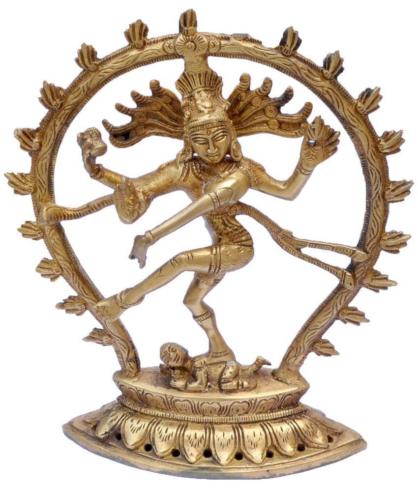 DakshCraft Shiva Brass Idol