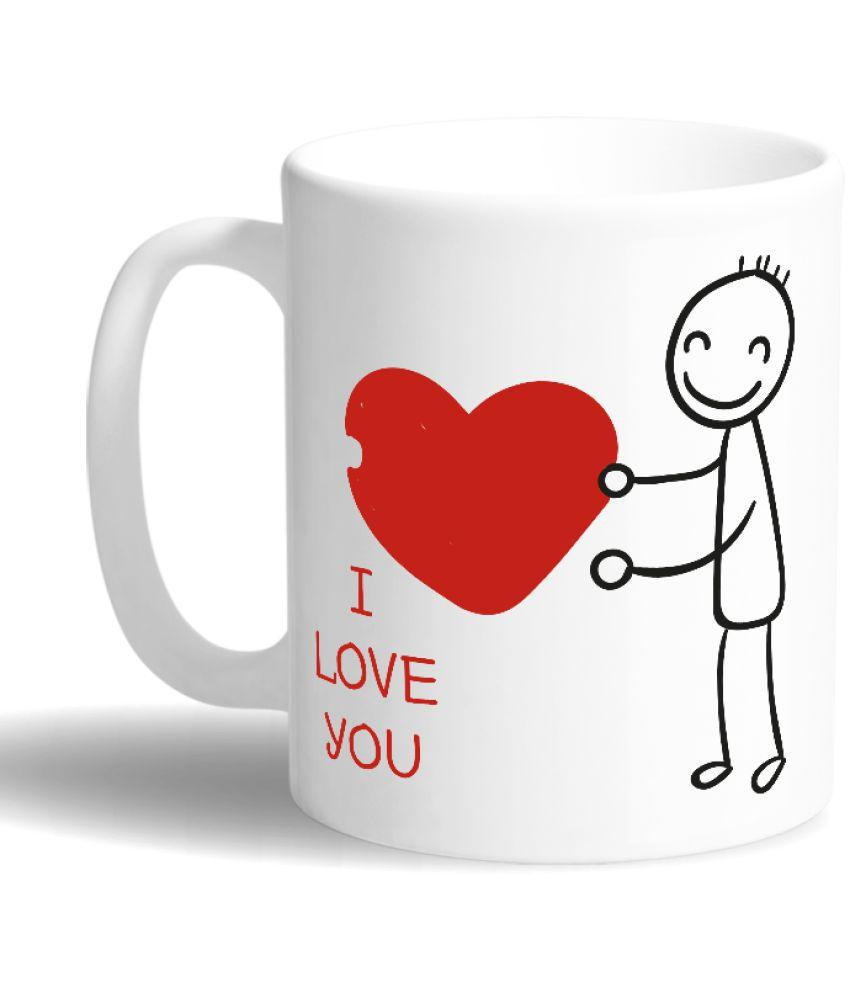 Print Opera Ceramic Coffee Mug 1 Pcs 350 ml